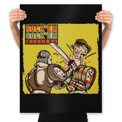 Rock'em Sock'em Killers - Prints - Posters - RIPT Apparel