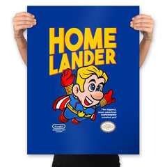 Superlander - Prints - Posters - RIPT Apparel