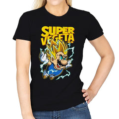 Super Vegeta Bros - Womens - T-Shirts - RIPT Apparel