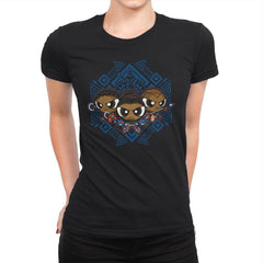 The Pantherpuff Girls Exclusive - Womens Premium - T-Shirts - RIPT Apparel