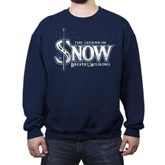 Breath of the Wildlings - Crew Neck Sweatshirt - Crew Neck Sweatshirt - RIPT Apparel