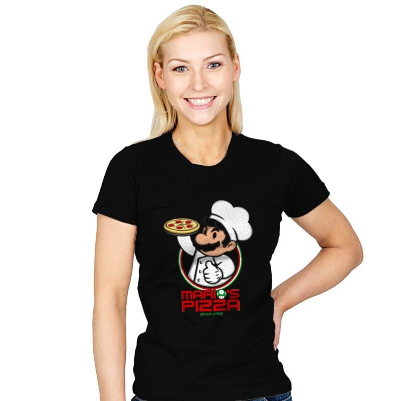 Plumber Pizza - Womens - T-Shirts - RIPT Apparel
