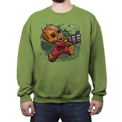 Super Tiny Guardian - Crew Neck Sweatshirt - Crew Neck Sweatshirt - RIPT Apparel