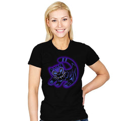 The Glowing Panther King - Womens - T-Shirts - RIPT Apparel