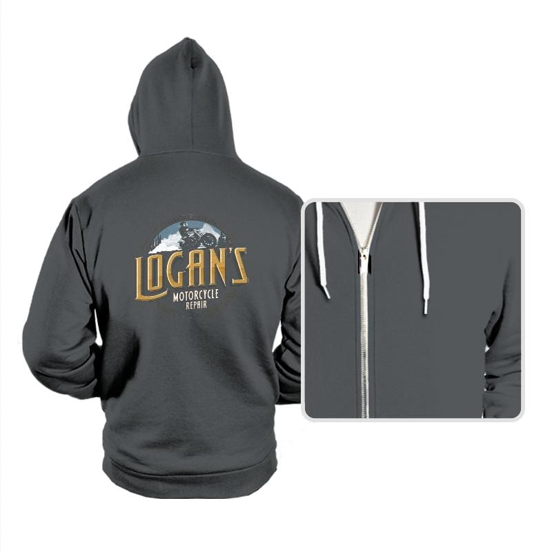 Logan's Motorcycle Repair - Hoodies - Hoodies - RIPT Apparel