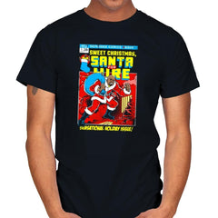 Santa For Hire Exclusive - Mens - T-Shirts - RIPT Apparel