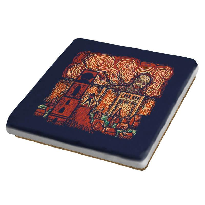 Starry Titan - Coasters - Coasters - RIPT Apparel