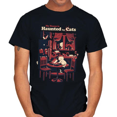 Haunted by Cats - Mens - T-Shirts - RIPT Apparel
