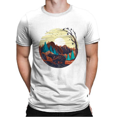 Nature Chill - Mens Premium - T-Shirts - RIPT Apparel