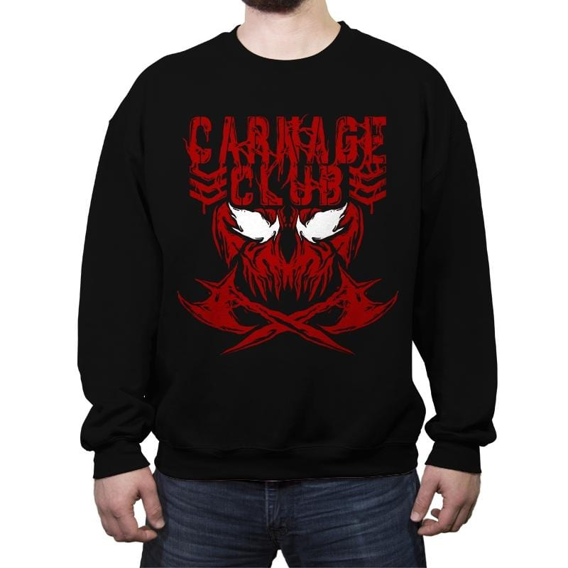 CARNAGE CLUB Exclusive - Crew Neck Sweatshirt - Crew Neck Sweatshirt - RIPT Apparel