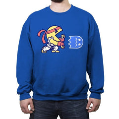 Wakka Fighter - Crew Neck Sweatshirt - Crew Neck Sweatshirt - RIPT Apparel