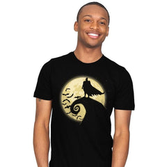 Nightmare Before The Bat - Mens - T-Shirts - RIPT Apparel