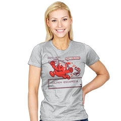 Koolmon Escaped! - Womens - T-Shirts - RIPT Apparel