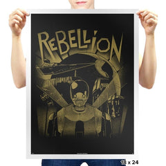 Rebellion Exclusive - Prints - Posters - RIPT Apparel