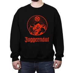 Anesthetic Juggernäut - Crew Neck Sweatshirt - Crew Neck Sweatshirt - RIPT Apparel
