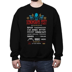 Xenofest - Crew Neck Sweatshirt - Crew Neck Sweatshirt - RIPT Apparel