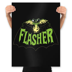 Flasher - Prints - Posters - RIPT Apparel