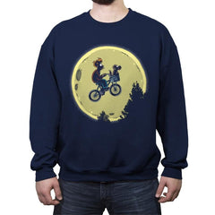 Bark Moon - Crew Neck Sweatshirt - Crew Neck Sweatshirt - RIPT Apparel