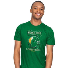Green Man Irish Green Ale - Mens - T-Shirts - RIPT Apparel