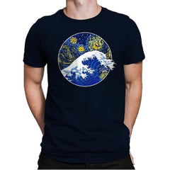 Starry Wave - Mens Premium - T-Shirts - RIPT Apparel