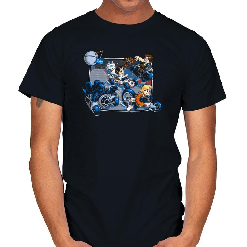 Super Kart Wars - 80s Blaarg - Mens - T-Shirts - RIPT Apparel