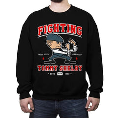 Fighting Shelby - Crew Neck Sweatshirt - Crew Neck Sweatshirt - RIPT Apparel