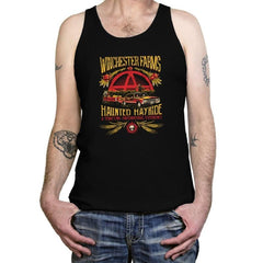 Winchester Farms Haunted Hay Ride Exclusive - Tanktop - Tanktop - RIPT Apparel