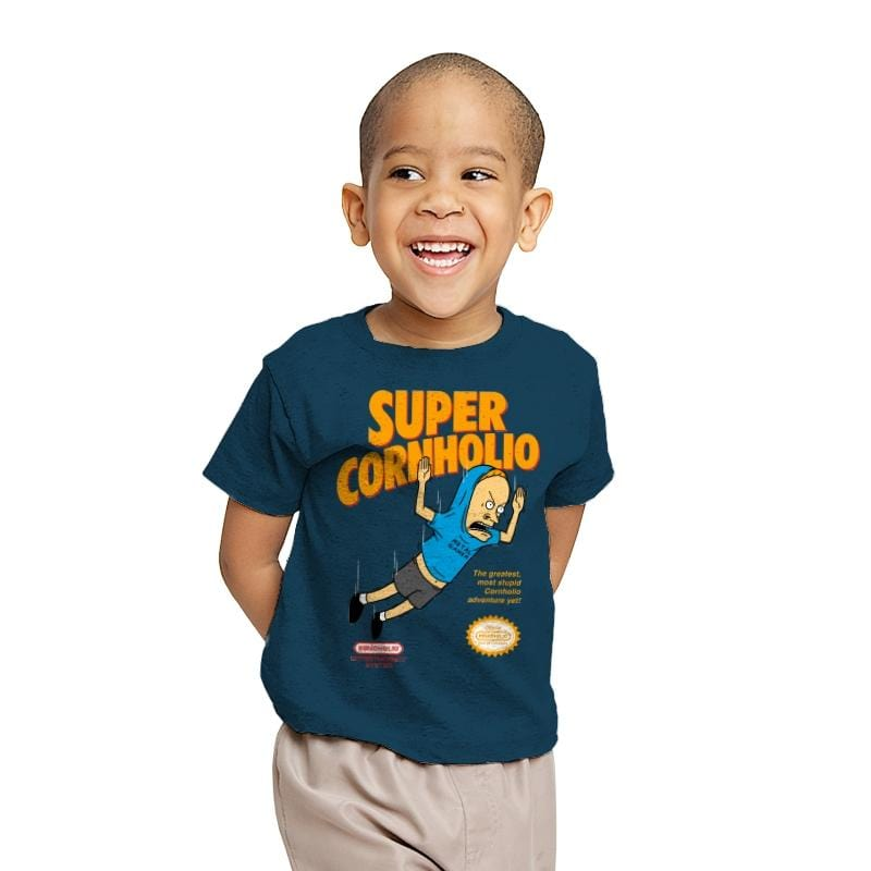 Super Cornholio - Youth - T-Shirts - RIPT Apparel