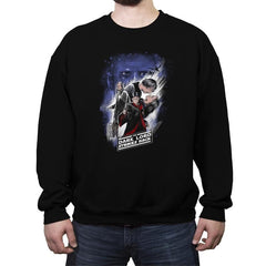 Dark Lord Strikes Back - Crew Neck Sweatshirt - Crew Neck Sweatshirt - RIPT Apparel