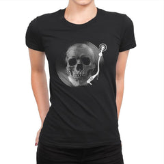 Death Tune - Womens Premium - T-Shirts - RIPT Apparel
