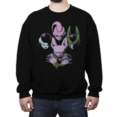 Villain Z Rhapsody - Crew Neck Sweatshirt - Crew Neck Sweatshirt - RIPT Apparel