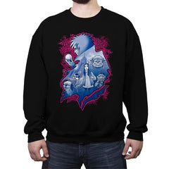 King's Labyrinth - Crew Neck Sweatshirt - Crew Neck Sweatshirt - RIPT Apparel