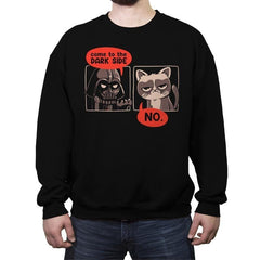 No Thanks - Crew Neck Sweatshirt - Crew Neck Sweatshirt - RIPT Apparel