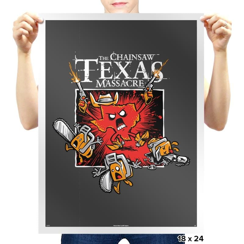 The Chainsaw Texas Massacre Exclusive - Prints - Posters - RIPT Apparel