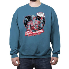 Dial-a-Date - Crew Neck Sweatshirt - Crew Neck Sweatshirt - RIPT Apparel