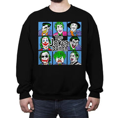 Bunch of Jokers - Crew Neck Sweatshirt - Crew Neck Sweatshirt - RIPT Apparel