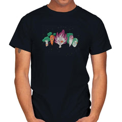 Space Veggie Warriors - Kamehameha Tees - Mens - T-Shirts - RIPT Apparel