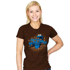 Gulliver Monster - Pop Impressionism - Womens - T-Shirts - RIPT Apparel