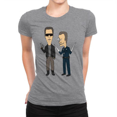 T800 and T1000 - Womens Premium - T-Shirts - RIPT Apparel
