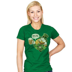Happy Scrooge Day - St Paddys Day - Womens - T-Shirts - RIPT Apparel