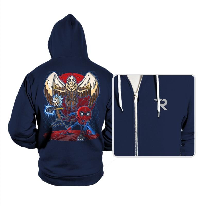 Spidermorty - Hoodies - Hoodies - RIPT Apparel