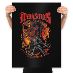 Dark Metal Souls - Prints - Posters - RIPT Apparel