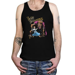 Beauty and the Brains - Tanktop - Tanktop - RIPT Apparel