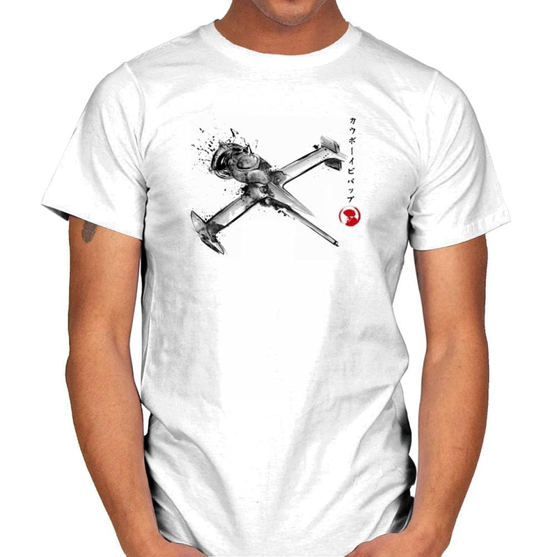 Mono Racer Sumi-E - Sumi Ink Wars - Mens - T-Shirts - RIPT Apparel