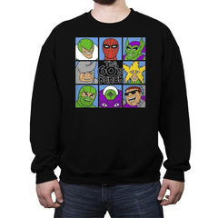 The 60's Bunch - Crew Neck Sweatshirt - Crew Neck Sweatshirt - RIPT Apparel