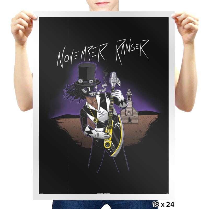 November Ranger Exclusive - Prints - Posters - RIPT Apparel