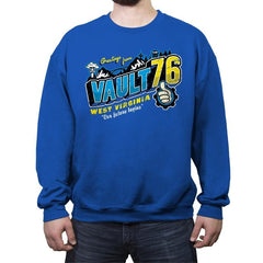 Greetings from WV Vault - Crew Neck Sweatshirt - Crew Neck Sweatshirt - RIPT Apparel