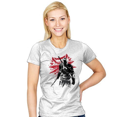 The Witcher Sumi-E - Sumi Ink Wars - Womens - T-Shirts - RIPT Apparel