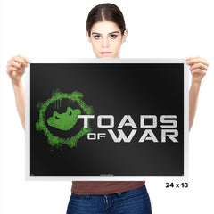 Toads of War - Prints - Posters - RIPT Apparel