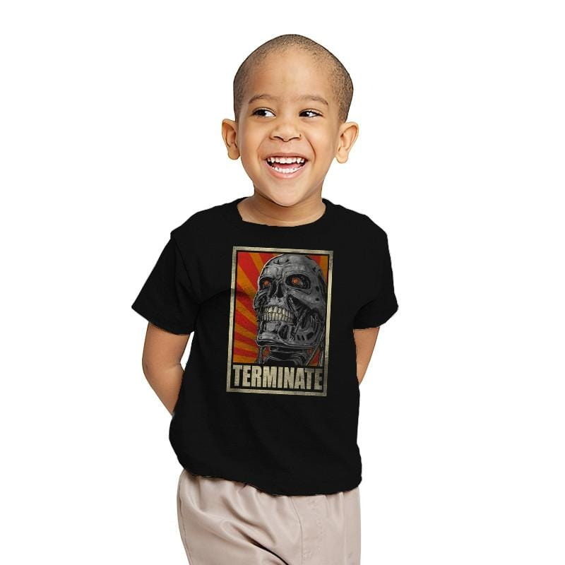 TERMINATE! - Youth - T-Shirts - RIPT Apparel